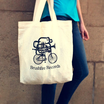 Bike Horn Tote Bag